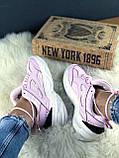 Женские осенние кроссовки Nike M2k Tekno (pink), кроссовки Найк М2к Текно (Реплика ААА), фото 7