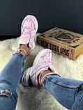 Женские осенние кроссовки Nike M2k Tekno (pink), кроссовки Найк М2к Текно (Реплика ААА), фото 5