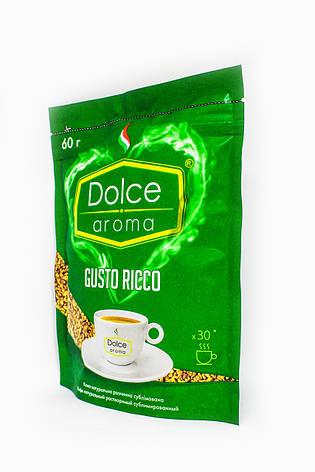 Растворимый кофе Dolce Aroma Gusto Ricco 60 г, фото 2