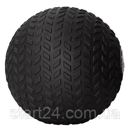 Слембол (медичний м'яч) для кроссфита SportVida Slam Ball 2 кг SV-HK0344 Black, фото 2