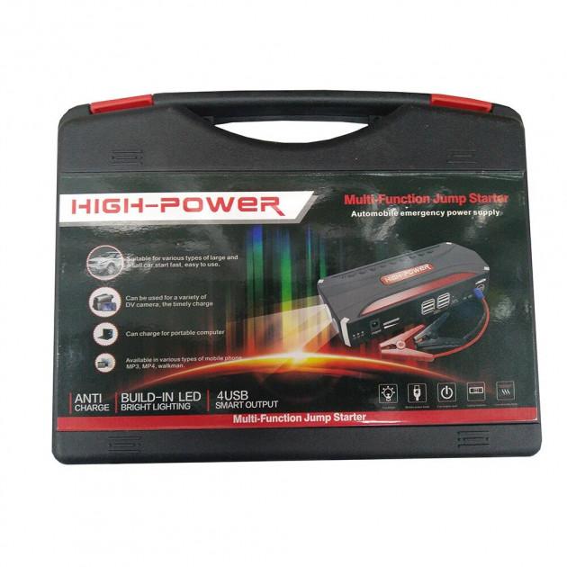 Пусковое зарядное устройство (бустер) запуска двигателя Jamp Starter (68800 mah)