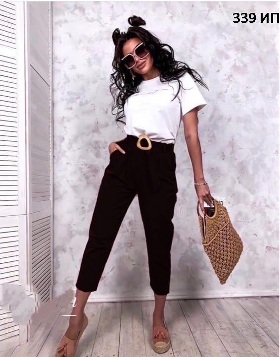 Мега стильные женские брюки 339 ИП