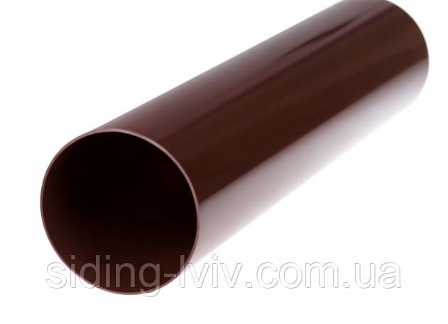 Труба водостічна система PROFIL коричнева 100 мм 4 м