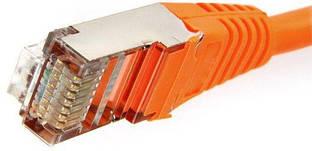 Патч-корд RJ-45 0.5м Cablexpert Cat. 5e FTP оранжевый (PP22-0.5M/O)