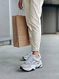 Женские осенние кроссовки Nike M2k Tekno (с блесками), кроссовки Найк М2к Текно (Реплика ААА), фото 2