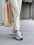 Женские осенние кроссовки Nike M2k Tekno (с блесками), кроссовки Найк М2к Текно (Реплика ААА), фото 4
