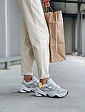 Женские осенние кроссовки Nike M2k Tekno (с блесками), кроссовки Найк М2к Текно (Реплика ААА), фото 5