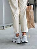 Женские осенние кроссовки Nike M2k Tekno (с блесками), кроссовки Найк М2к Текно (Реплика ААА), фото 7