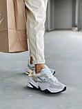Женские осенние кроссовки Nike M2k Tekno (с блесками), кроссовки Найк М2к Текно (Реплика ААА), фото 6