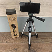 Штатив тренога трипод для телефона с пультом bluetooth DK 3888 смартфона камеры фотоаппарата gopro блютуз