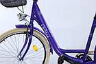 Міський велосипед COSSACK LOW LINE 26 Nexus 3 фіолетовий Польща, фото 4
