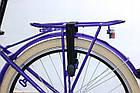 Міський велосипед COSSACK LOW LINE 26 Nexus 3 фіолетовий Польща, фото 7