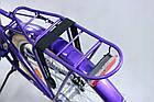 Міський велосипед COSSACK LOW LINE 26 Nexus 3 фіолетовий Польща, фото 8