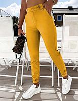 Трикотажные джинсы женские, фото 1