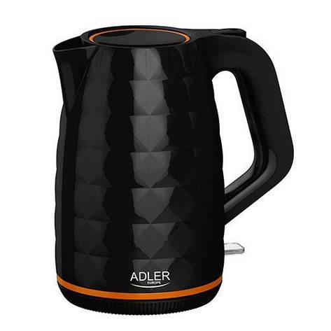 Чайник Adler AD 1277 black 1.7L, фото 2