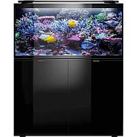Комплект Glossy Marine 120 Set черн (350L) (аквариум+подставка)