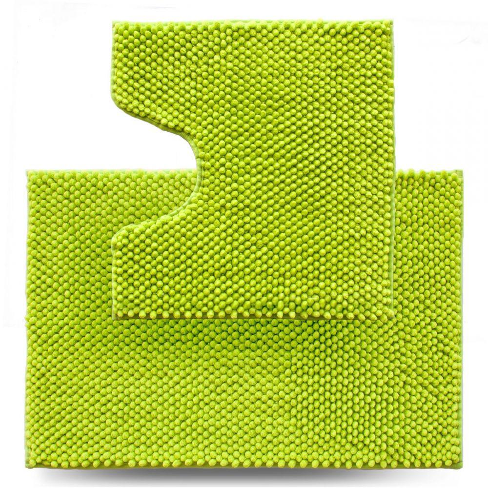 Набір килимків для ванної 2 шт Dariana Ананас D-6437 салатовий