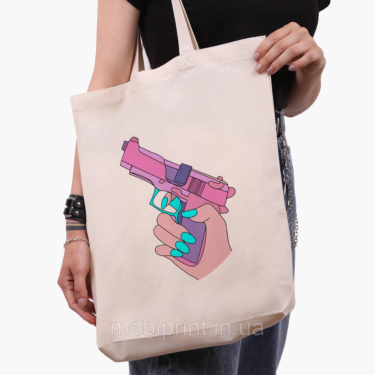 Эко сумка шоппер белая Убивство Диджитал Арт (Kill Digital art) (9227-1636-1)  экосумка шопер 41*39*8 см