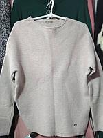 Пуловер свитер женский джемпер Тёплый размер универсальный Темно зелёный