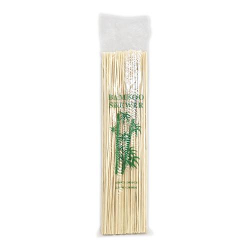 Шпажки бамбуковые для шашлыка   деревянные шашлычные палочки - 30 см, 200 шт.