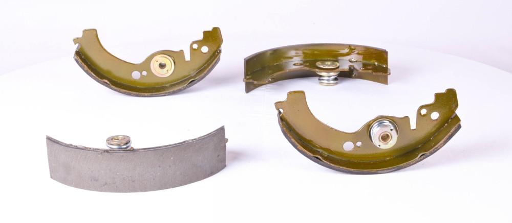 Колодка тормозная ВАЗ 2103 задняя (комплект 4шт.) (производство BEST) (арт. 2103-3502090), rqc1
