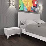 Спальний комплект Picassa b2 Попелястий софттач, фото 2