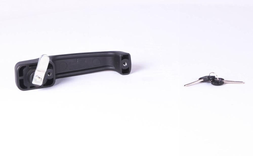 Ручка двери наружная левая с ключом УАЗ 469(31512,-14) (покупной УАЗ) (арт. 3151-40-6105151-01), rqx1