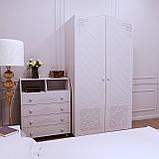 Спальний комплект Amelie b4 Білий супермат, фото 2