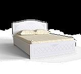 Спальний комплект Amelie b4 Білий супермат, фото 3