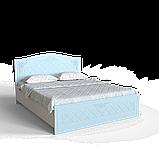 Спальний комплект Amelie b3 БЛАКИТНА ЛАГУНА, фото 3