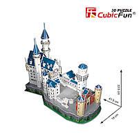 """Трехмерная головоломка-конструктор national geographic """"Замок Нойшванштайн"""" Cubic Fun (DS0990h), фото 4"""