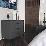 Спальний комплект Ascet b3 Графіт, фото 2