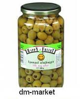 Оливки зеленые маринованные HappY-FruchT без косточки 900 гр.
