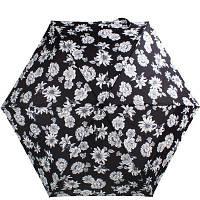 Складаний парасолька Fulton Зонт жіночий механічний FULTON FULL340-Blk-white-floral, фото 1