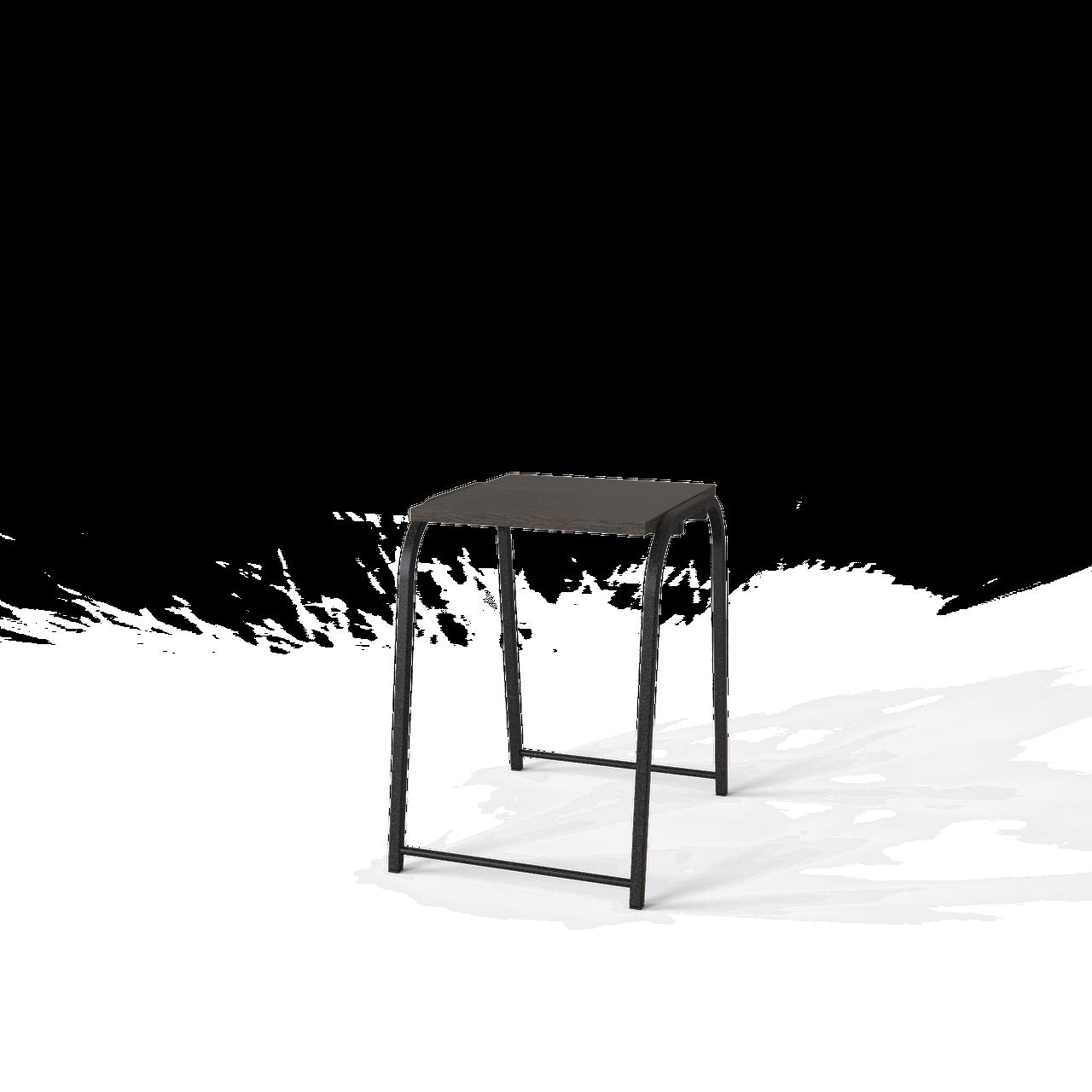 Стілець Ferrumon Чорний / Венге
