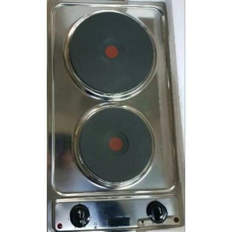 Варочная поверхность INOX 2E Domino электрическая, фото 2