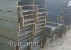Балка двутавровая сталь 09Г2С-12
