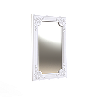 Дзеркало прямокутне Amelie Білий супермат