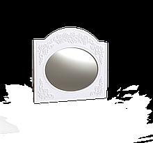 Дзеркало овальне Amelie Білий супермат
