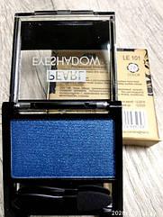 Тени для век LA ROSA MATTE Eyeshadow Professional Makeup одинарные LE-101 № 28п синий