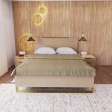 Ліжко Swan Каталонський жовтий ( 1600*2000)