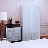 Шафа для одягу Amelie Блакитна лагуна, фото 2