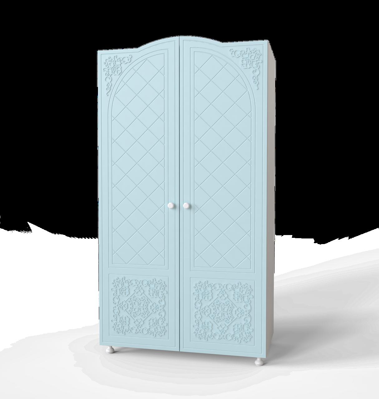 Шафа для одягу Amelie Блакитна лагуна
