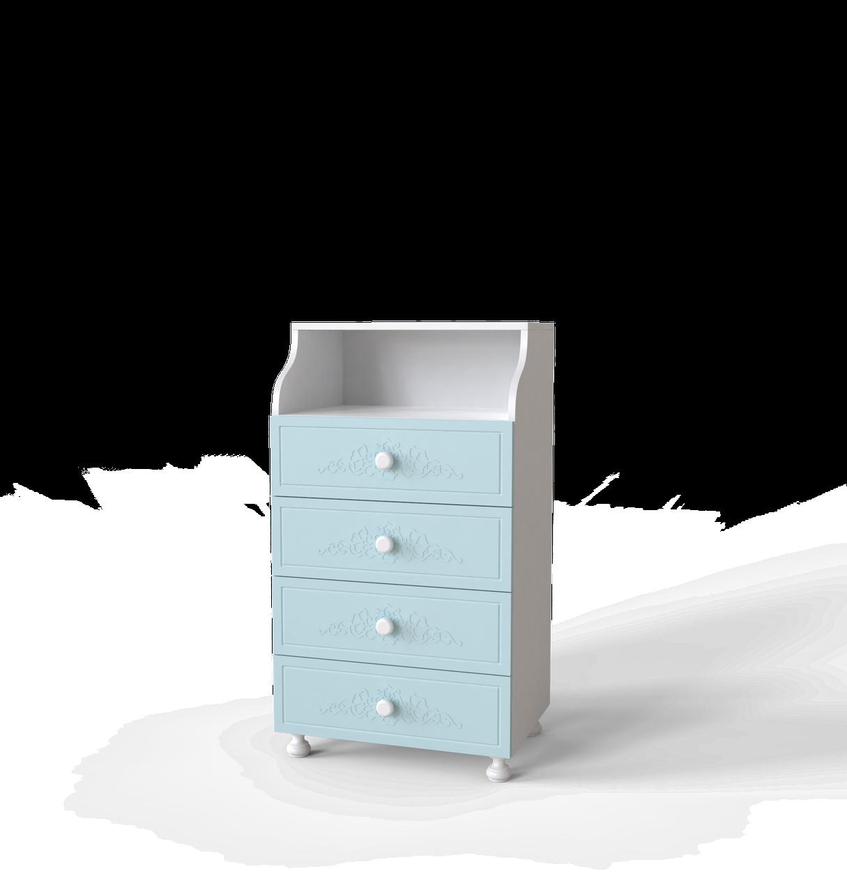 Комод Amelie 40 Блакитна лагуна