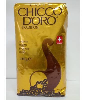 Кофе в зернах Мелена кава Chicco D'oro 1 кг, фото 2