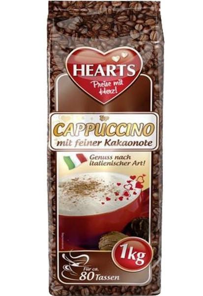 Капучино какао Hearts Kakaonote 1 кг Германия