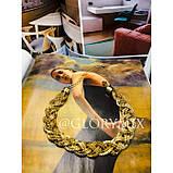 """Цепочка чокер """"Pigtail"""" косичка, золото, фото 3"""