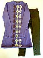 Костюм: Туника с леггинсами Losan Creem girls (024-8002AB/124) Темно-фиолетовый 14 Years-159 см