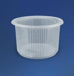Одноразовий посуд з кришкою 500 мл сметанник