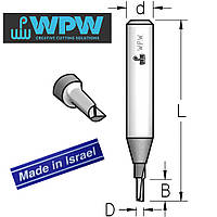Фреза пазовая WPW D2 B5 d6 однозубая P110203